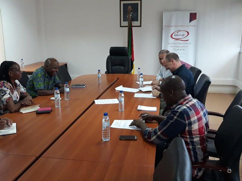 Aufbau eines Schulungs- und Prüfzentrums in Mosambik