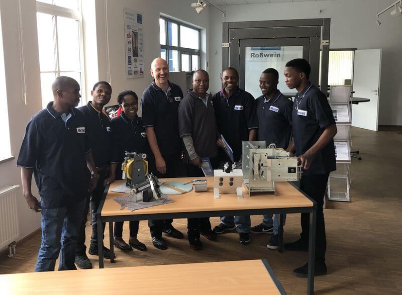 Ausbildung von 7 Mosambikanern bei INTEC