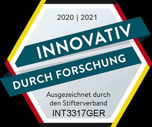 Forschungssiegel des Stifterverbands für die Deutsche Wissenschaft e.V.