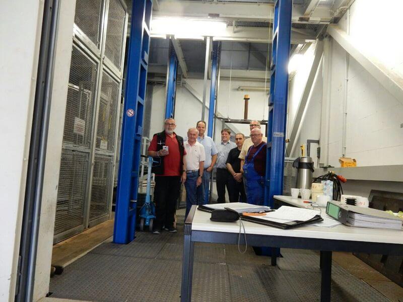 MLC-8000 steuert Testaufzug in Roßwein