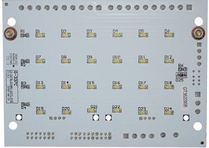 Emergency light board TVE Version 1.2