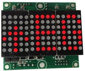 Dot matrix display PMA Version 2.0